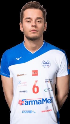 Giulio Sasdelli Gabbiano Top Team Volley Mantova