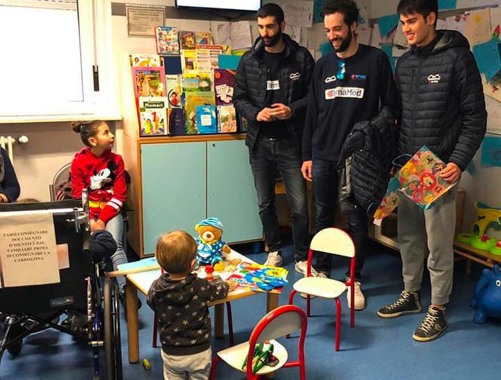 Progetto sociale Gabbiano Top Team Volley Mantova