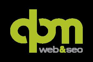 Logo dpm studio web&seo