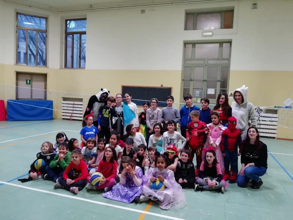 Attività scuole Gabbiano Top Team Volley Mantova Progetto scuola pallavolo