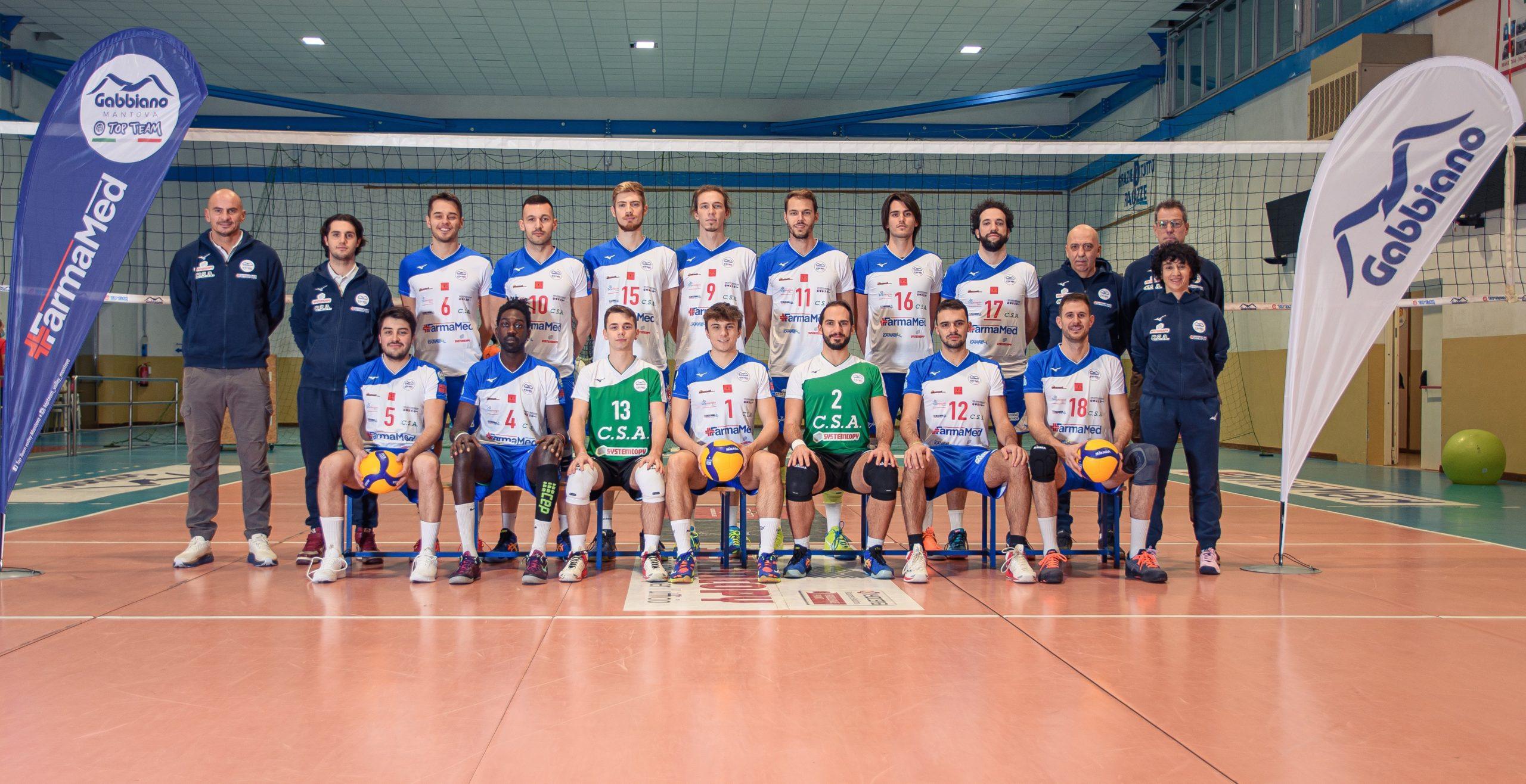 Gabbiano Top Team Volley Mantova 2020 2021 pallavolo mantova