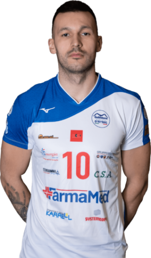 Andrei Man Gabbiano Top Team Volley Mantova