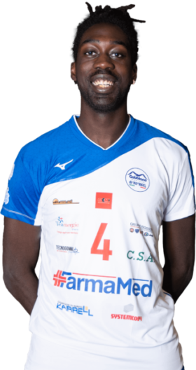 Flavio Amouah Gabbiano Top Team Volley Mantova