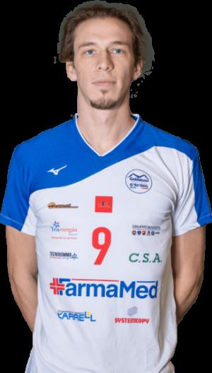 Luca Bigarelli Gabbiano Top Team Volley Mantova