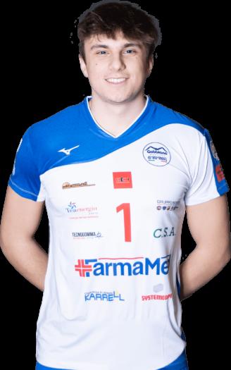 Matteo Pedroni Gabbiano Top Team Volley Mantova