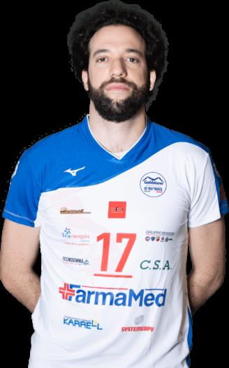Nicola Artoni Gabbiano Top Team Volley Mantova