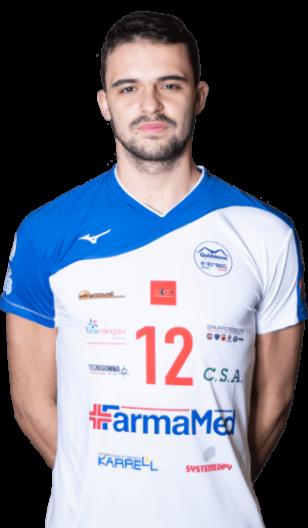 Pietro Squarzoni Gabbiano Top Team Volley Mantova