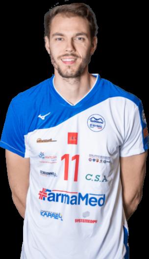 Tommaso Cordani Gabbiano Top Team Volley Mantova