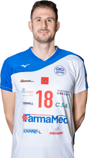 Zoran Peslac Gabbiano Top Team Volley Mantova